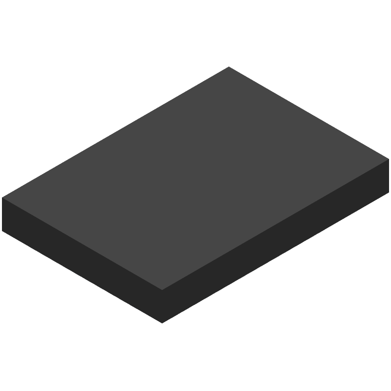 Espressif Systems ESP32-WROOM-32E(M113EH3200PH3Q0) (Other) 3D model isometric projection.