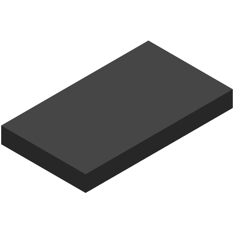 Espressif Systems ESP32-WROVER-E(M213EH2864PH3Q0) (Other) 3D model isometric projection.