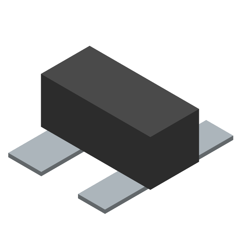 LITTELFUSE SP0503BAHTG (Other) 3D model isometric projection.