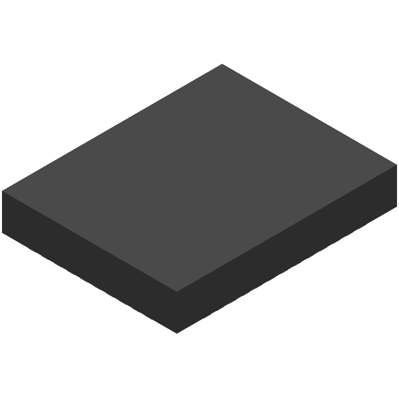 Microchip WLR089U0-I/RM (Other) 3D model isometric projection.