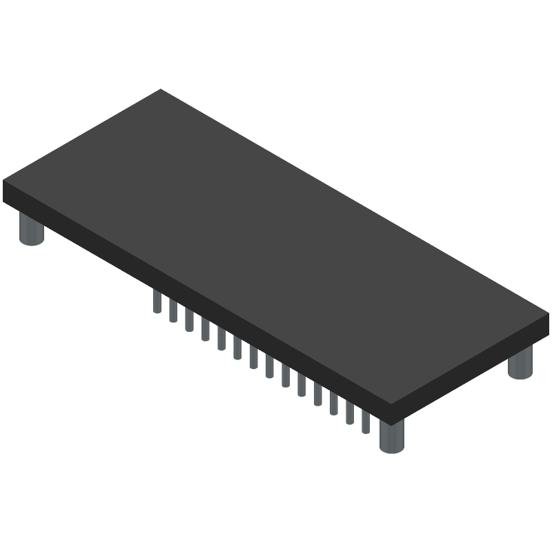 Arduino ABX00023 (Other) 3D model isometric projection.
