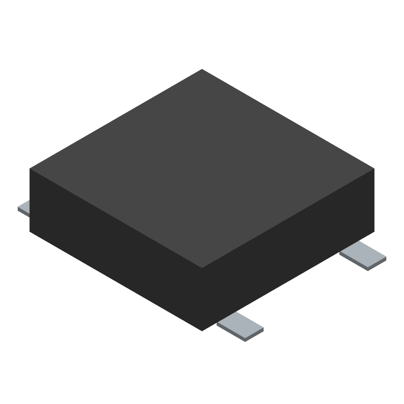 C & K COMPONENTS PTS526 SK15 SMTR2 LFS (Other) 3D model isometric projection.