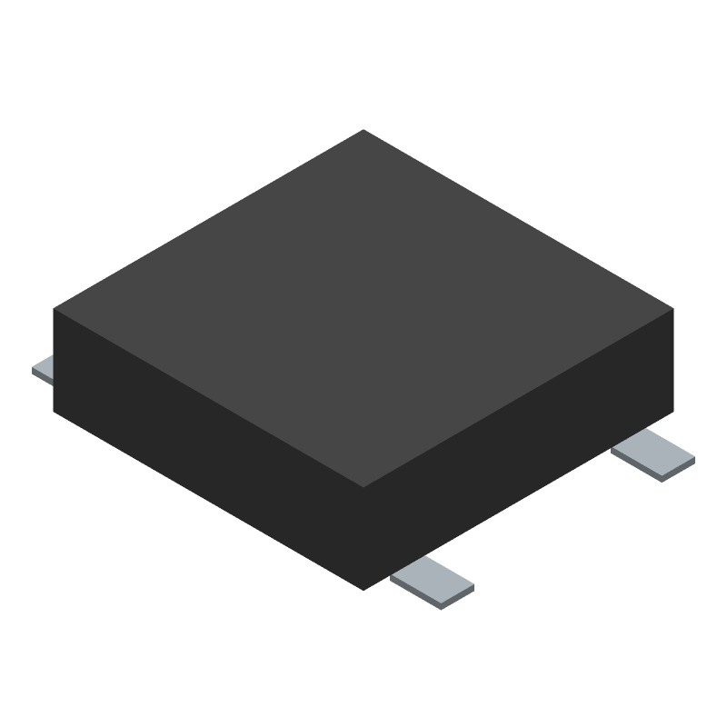 C & K COMPONENTS PTS526 SM15 SMTR2 LFS (Other) 3D model isometric projection.