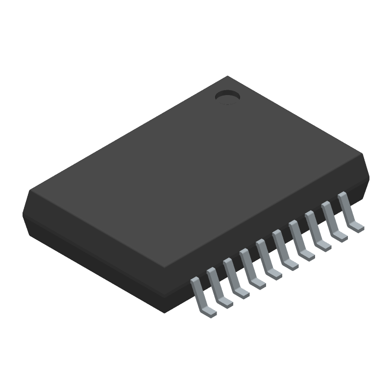 NXP MC33886PVWR2 (Small Outline Packages) 3D model isometric projection.